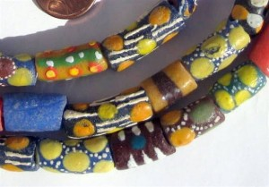 Mixed Venetian Trade Beads